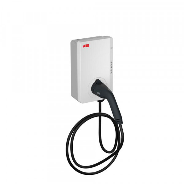 Station de recharge ABB Terra AC 22 kW RFID, câble 4G Type 2