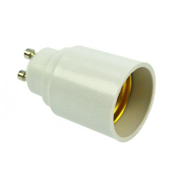 Adapter socket GU10 base for E27 lamps