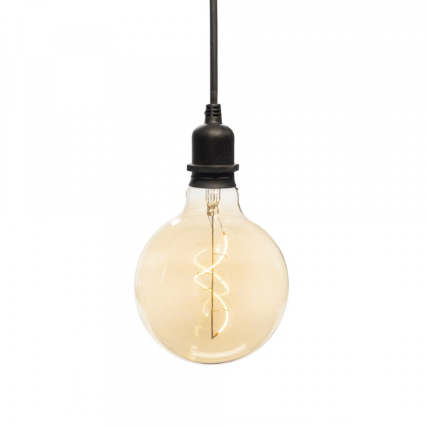 Decorative lamp Edison round