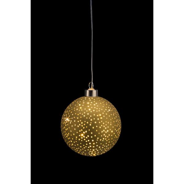 Glamour Ball gold S D10cm