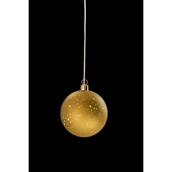 Glamour Ball gold M D12cm