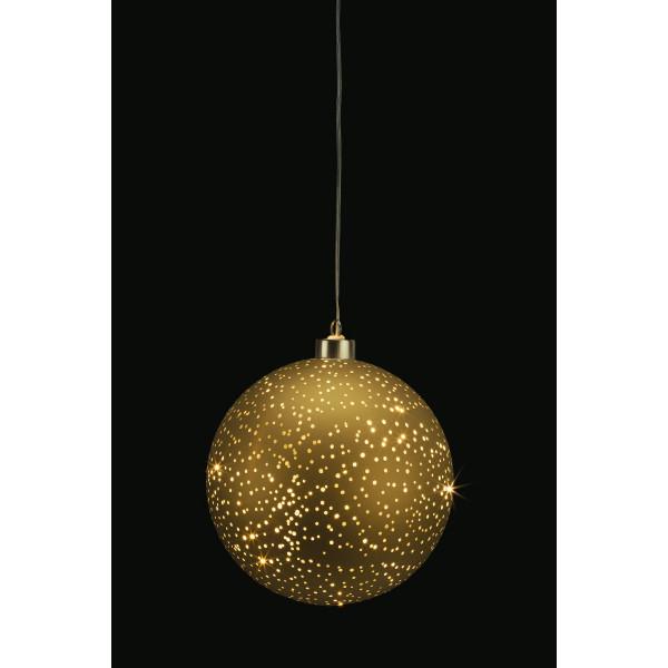 Glamour Ball gold L D15cm