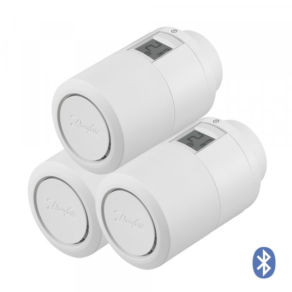 Heizkörperthermostat Danfoss Eco Bluetooth, 3er-Set
