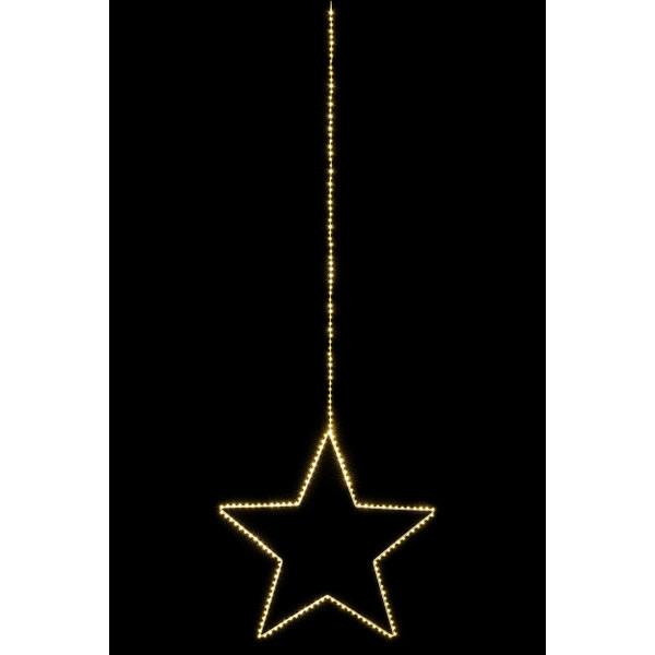 Angel Star L, silver D58cm