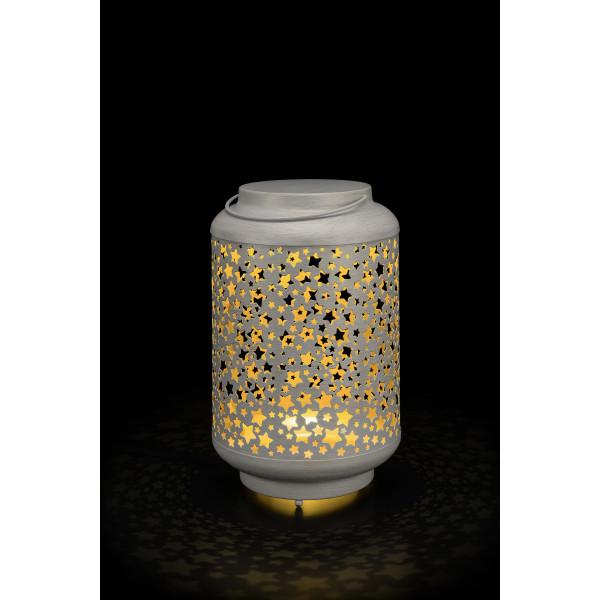 XMAS Vintage Lantern Star S D18cm x 32 cm