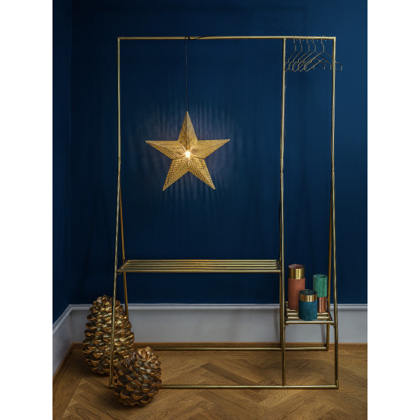Imperial Metal Star gold D 49cm x 12cm