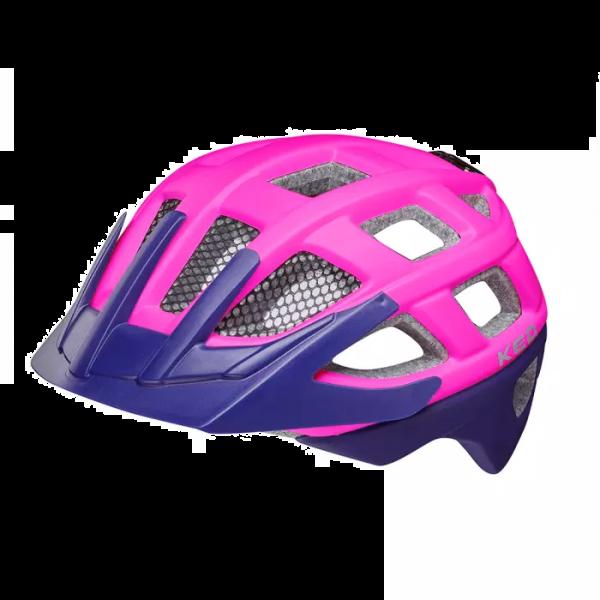 Kailu Kindervelohelm-Pink Purple Matt-Grösse S (49-53 cm)