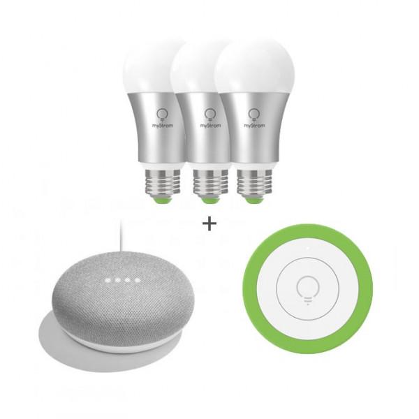 Pack d'éclairage myStrom et Google Mini