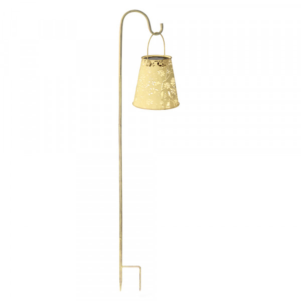 Solar lantern antique, spring incl. garden stick