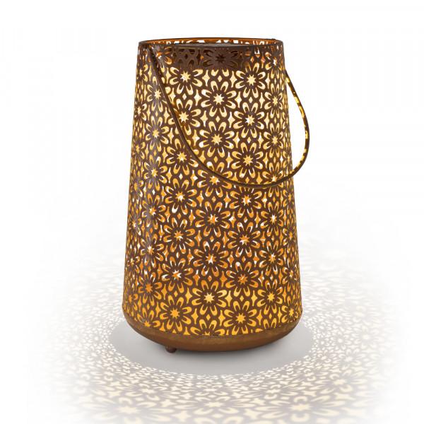 Solar Lantern Terracotta L