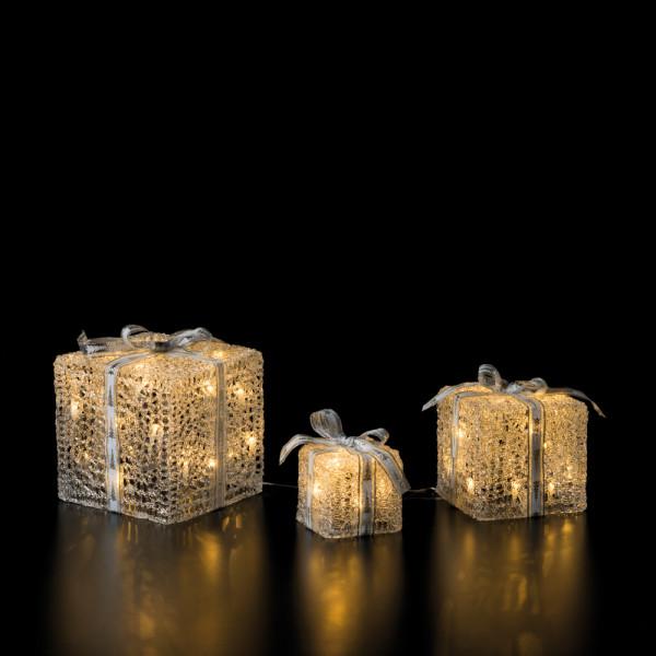Set of 3 Gift Box Ice