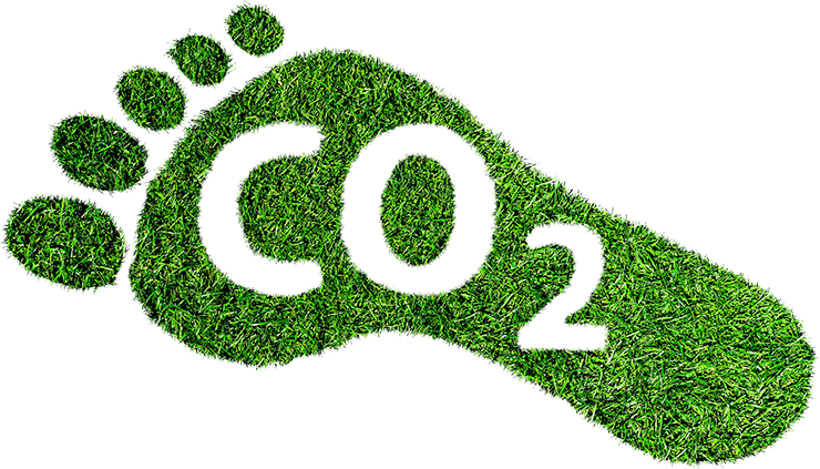 CO2 Fussabdruck