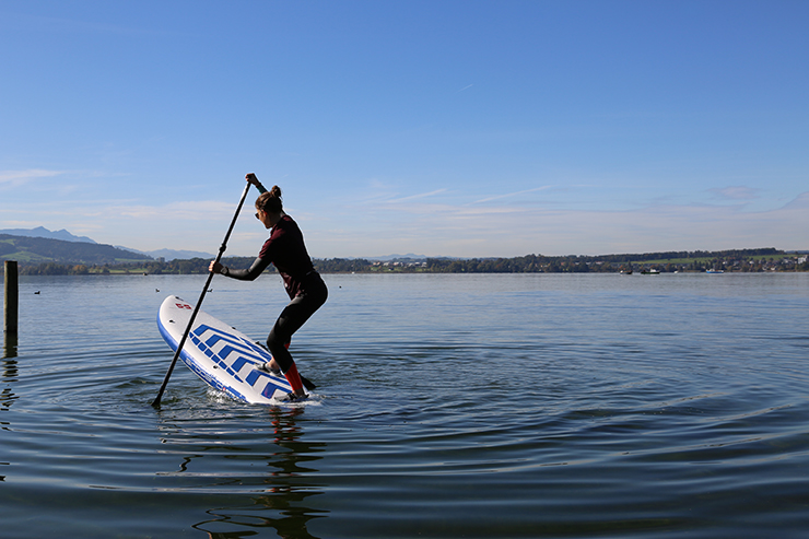 Stand-Up-Paddle-Technik